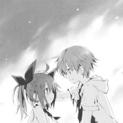 Shido and Kotori from five years ago, the day Kotori first became a spirit