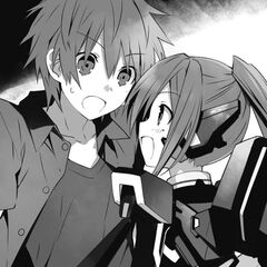 Shido, with Mana arriving in time to help him save Tohka