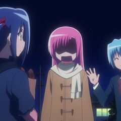Hinagiku's great dismay after Hayate shows up
