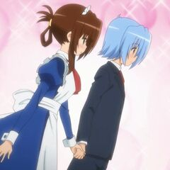 Hayate and Maria on their third date
