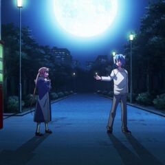 Hayate and Nagi's first meeting, as shown in the 2nd Season