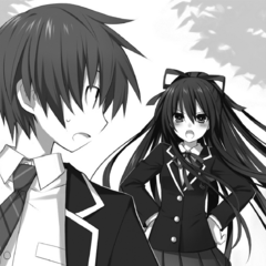 Shido with Tohka calling for him