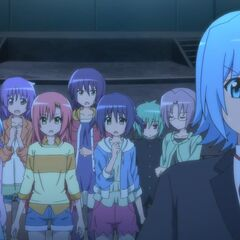 Hayate, along the others, shocked to find out about Nagi's condition