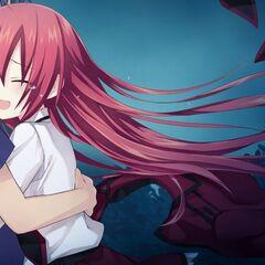 Shido hugging Kotori