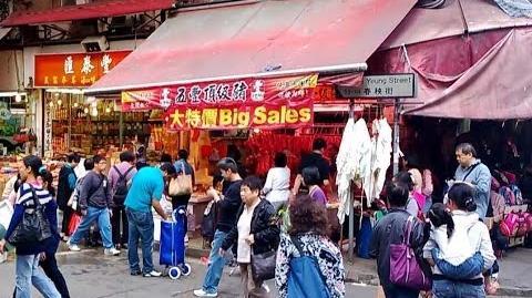 Hong Kong Famous Chun Yeung Street Market 北角 春秧街 (Long Edit)