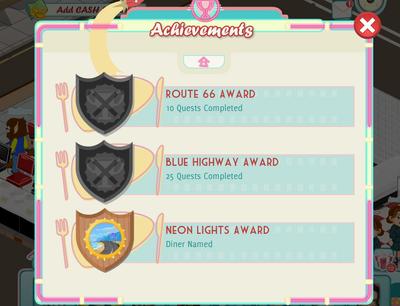 Popup achievements old