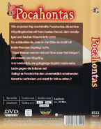 Pocahontas DVD Germany PowerStation Back