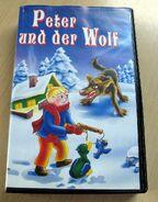 Peter und der Wolf (VHS, Junger Verlag, Front)