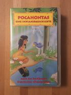 Pocahontas (Pocket Money Video VHS, Front)