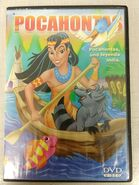 Pocahontas (Spanish DVD, Front)