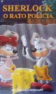 Die Mäusepolizei (Portuguese VHS, Trisan Editores, Front)