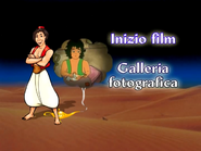 Aladino Bimbo Cartoons Main Menu