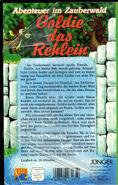 Goldie - Abenteuer im Zauberwald (Jünger Verlag-Ocean VHS, Back)