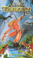 A-Lenda-De-Tarzan VHS-Portugal Trisan Front