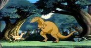 Albertosaurus from Dink