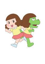 Dino Girl Gauko Netflix promo