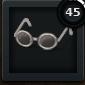RoundGlasses White