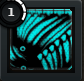 1MUSCLE Black Turquoise