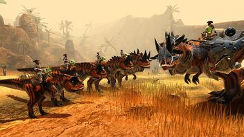 Evolution carnotaurus