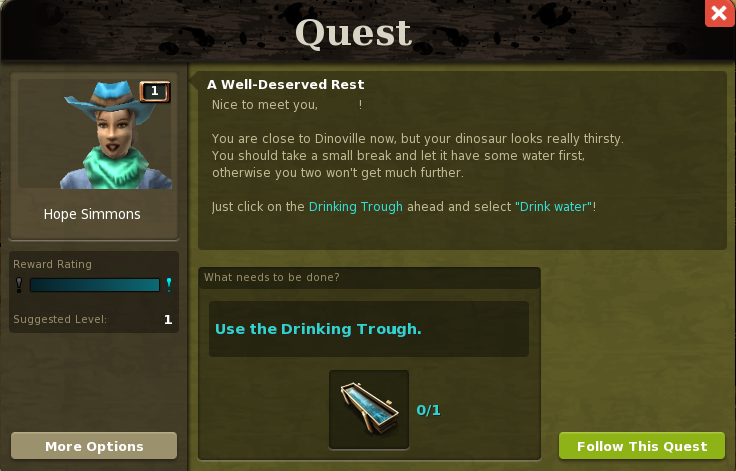 First quest