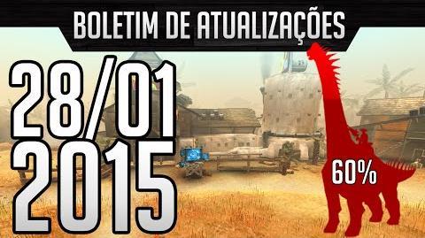 Dino Storm Boletim de Atualizações 28 01 15 s