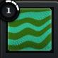 LENGTHWISESTRIPE Turquoise Green
