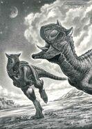 Carnotaurus sastrei by paleopastori-d72jgmf