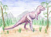 Tyrannosaurus rex sketch by hairydalek