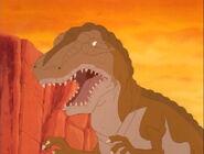 LBT allosaurus