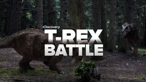 Epic Trex Fight
