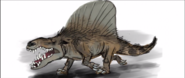 Dimetrodon character in The Good Dinosaur