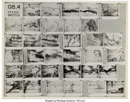 Fantasia Rite of Spring Storyboard Print Sheets 1