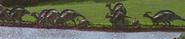 Parasaurolophus JP
