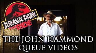 Jurassic Park- The Ride The John Hammond Queue Videos