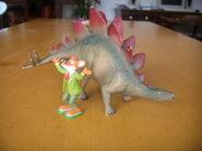 Geronimo Stilton e lo stegosauro