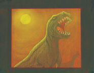 Concept t-rex