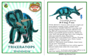 Dinosaur train triceratops card revised by vespisaurus-db7hidh