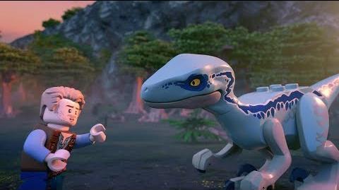 Mission Rescue Blue the Dinosaur - LEGO Jurassic World - Mini Movie