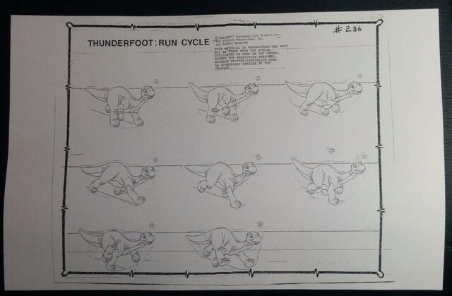File:The Land Before Time(1988) THUNDERFOOT Run Cycle Model Sheet Archival Copy SH5.jpg
