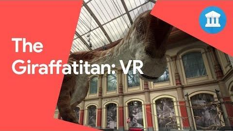 Giraffatitan dinosaur Back to life in 360 VR