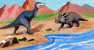 Gorgosaurus&Styracosaurus1