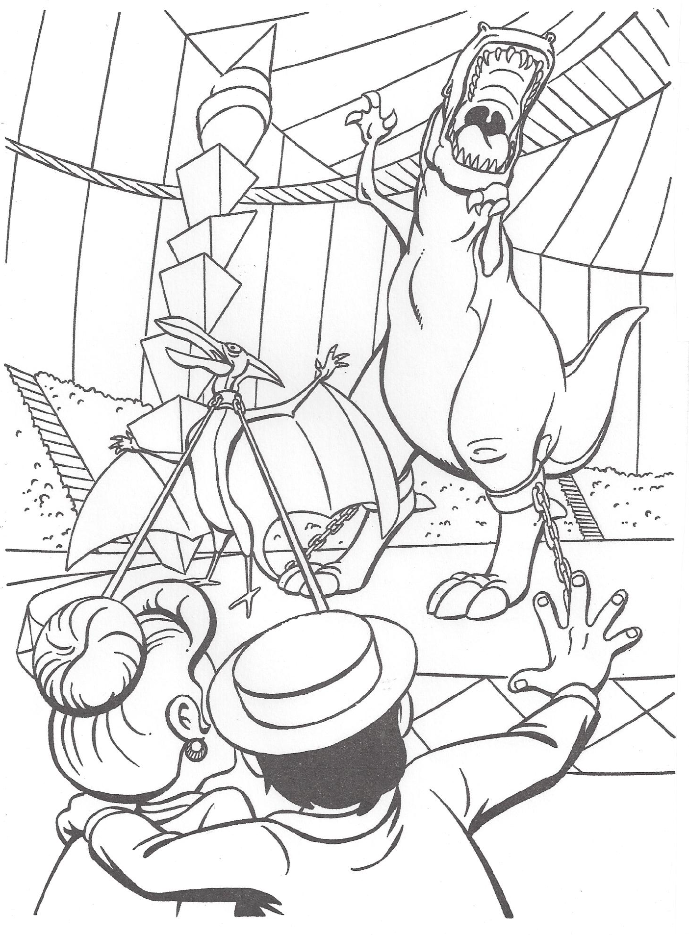image we u0027re back coloring page 11 png dinosaur wiki fandom