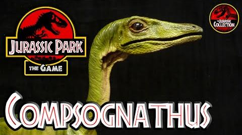 Jurassic Park The Game COMPSOGNATHUS Behind the Scenes