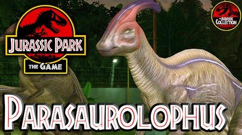 Jurassic Park The Game PARASAUROLOPHUS Behind the Scenes