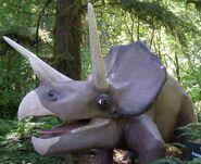 Prehistoric gardens Triceratops