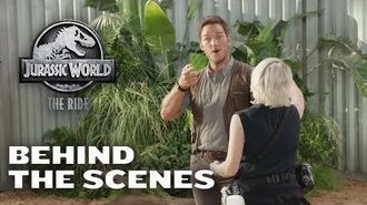 Behind the Scenes - Jurassic World - The Ride