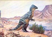 Iguanodon-postcard-England-1000x706
