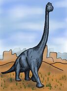 Brachiosaurus by hairydalek-d5mfckz