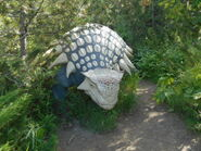 Calgary Zoo ankylosaurus