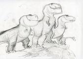 Good Dinosaur T-rex sketch